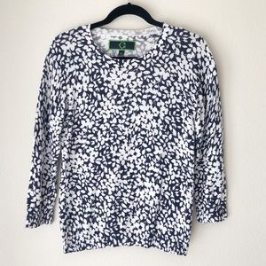 C WONDER PATTERNED SWEATER M